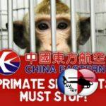 China Southern Airlines renonce à transporter des primates