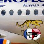 """Самый новый SSJ 100 """"Аэрофлота"""" получил ливрею с дальневосточным леопардом"""